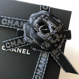CHANEL Other - Authentic Chanel Limited Camellia Ribbon Set